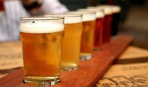 craft beer samples