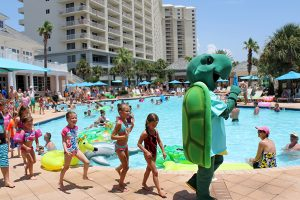 clubhouse activities are a big part of the beach club experience