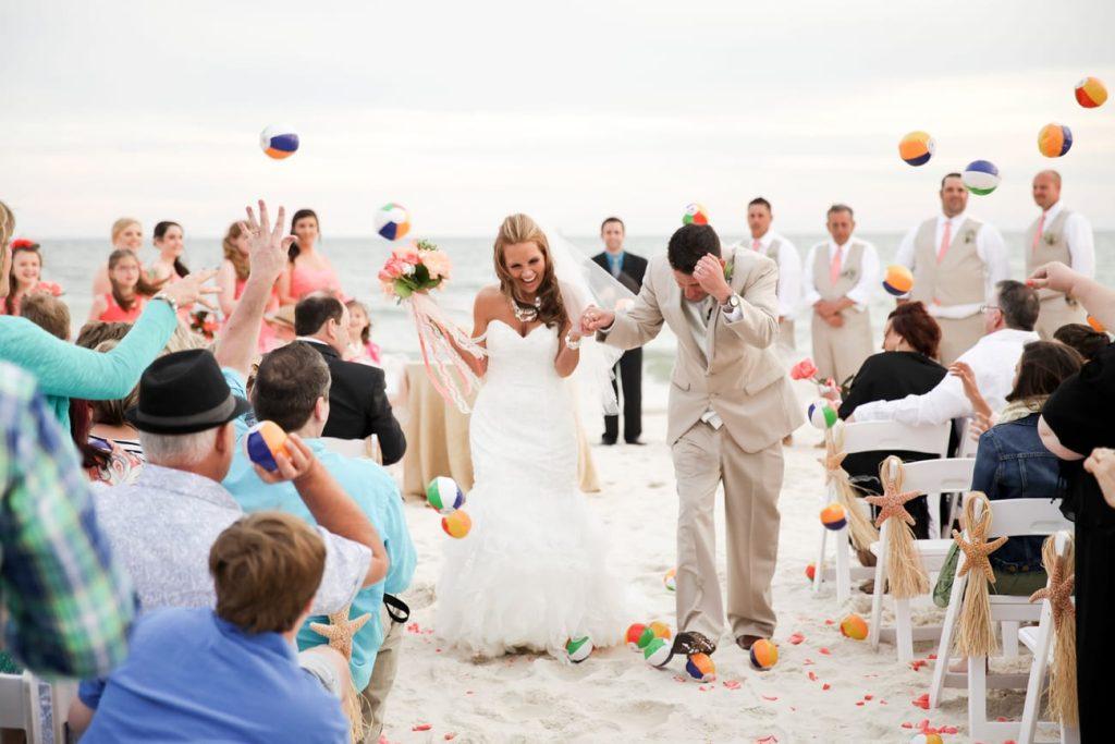 gulf shores beach wedding at the beach club resort