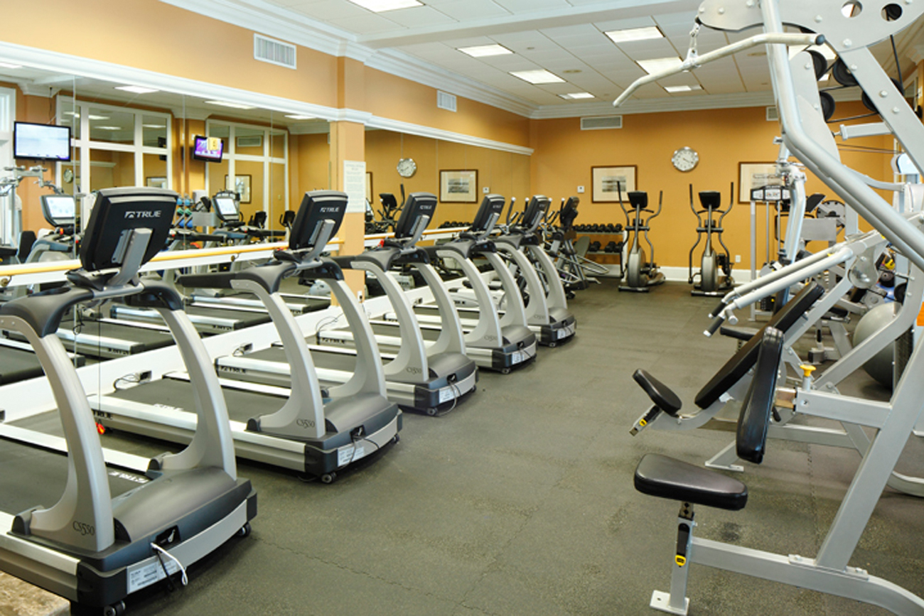 Club Fitness center