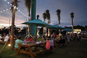 village lawn at beach club resort