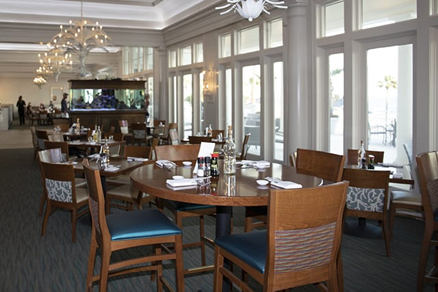 Coast Restaurant Interior - The Beach Club Gulf Shores AL
