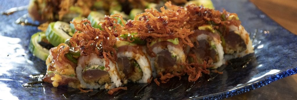 Sushi at Coast Restaurant - The Beach Club Gulf Shores