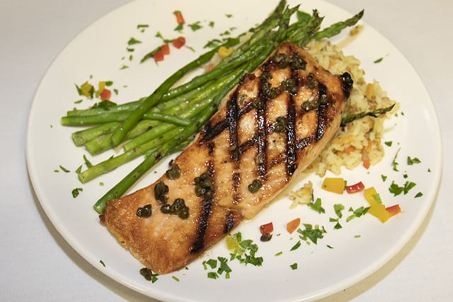 House Smoked Grilled Salmon - Coast Restaurant - The Beach Club Gulf Shores AL