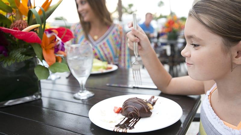 Sweet Treats on the Veranda at Coast Restaurant - The Beach Club Resort Gulf Shores Alabama