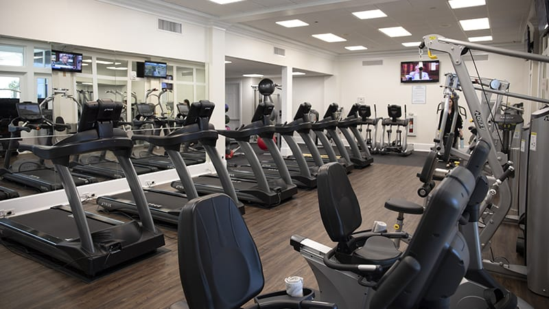 Fitness Center at The Beach Club Resort Gulf Shores Alabama