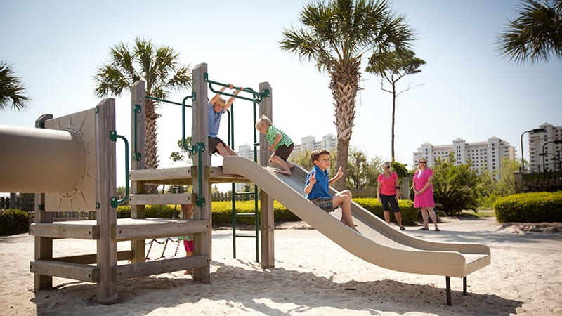 Kids' Playground - The Beach Club Resort Gulf Shores Alabama