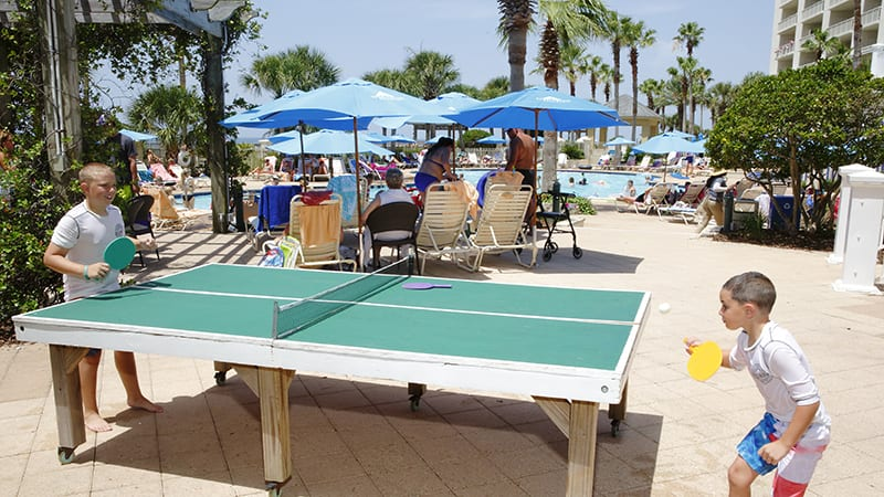 Clubhouse Outdoor Pool at The Beach Club Resort Gulf Shores Alabama