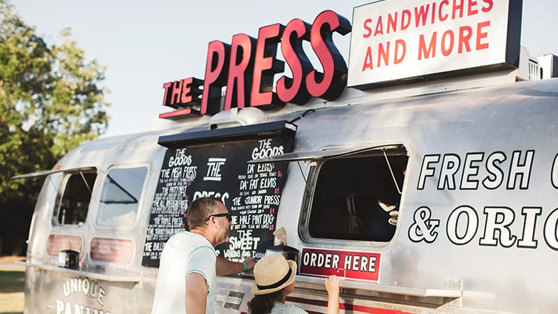 Food Trucks and Activities at The Village Lawn - The Beach Club Resort Gulf Shores Alabama