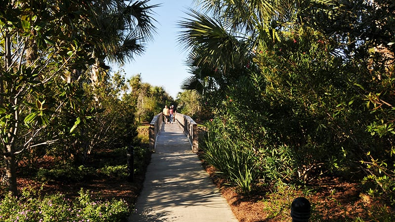 Walking Trails at The Beach Club Resort Gulf Shores Alabama