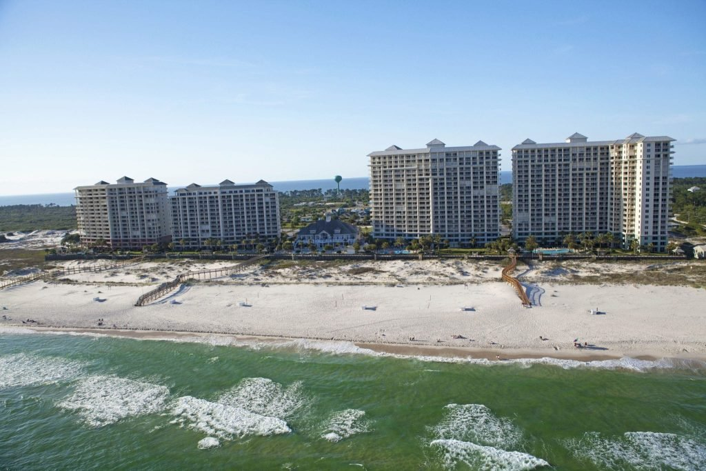 Spacious luxurious cottages at The Beach Club Resort Gulf Shores Alabama