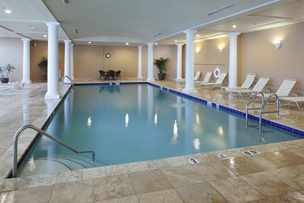 Indoor Pool at The Beach Club