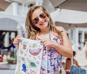 Poolside Craft - Colortime Tote Bags - The Beach Club Gulf Shores Alabama