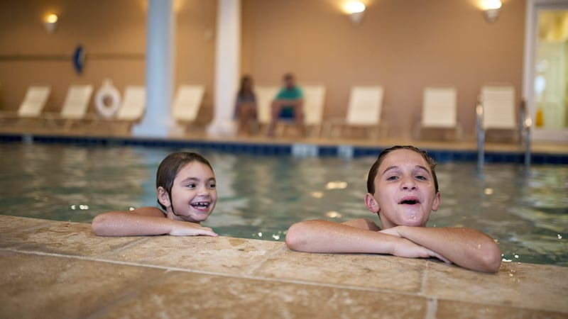 Clubhouse Indoor Pool - The Beach Club Resort Gulf Shores Alabama