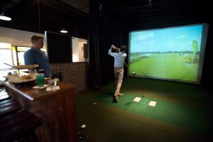 village hideaway golf simulator