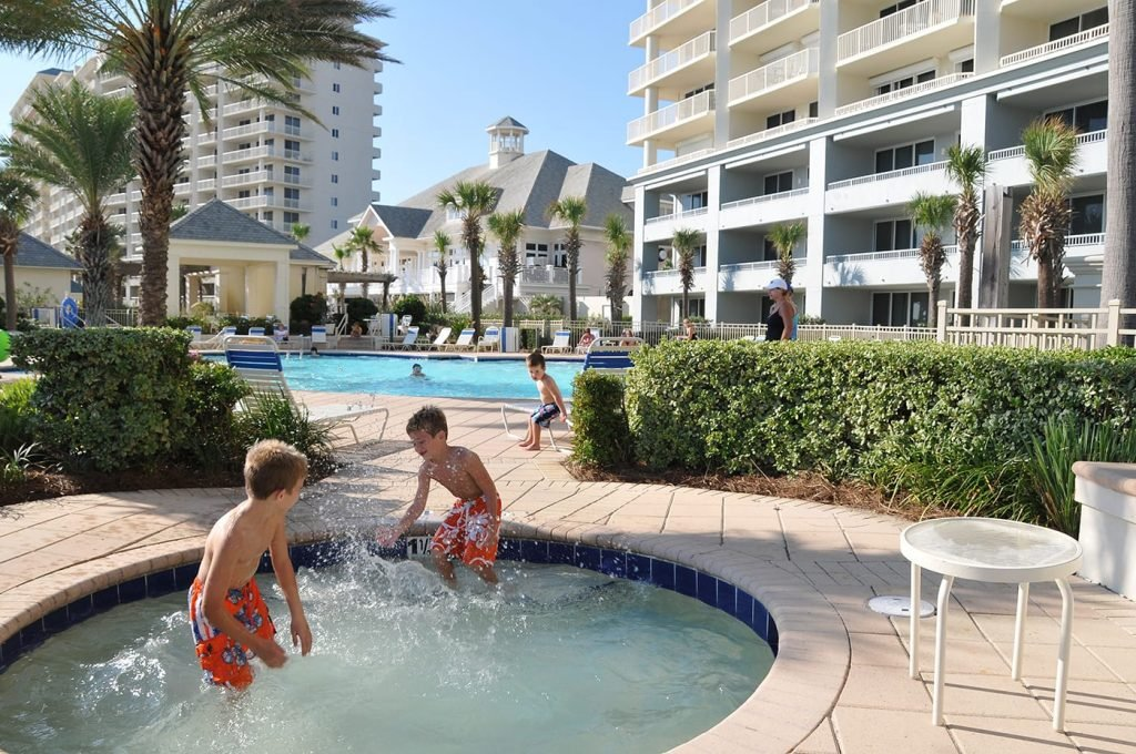 clubhouse pools at the beach club resort