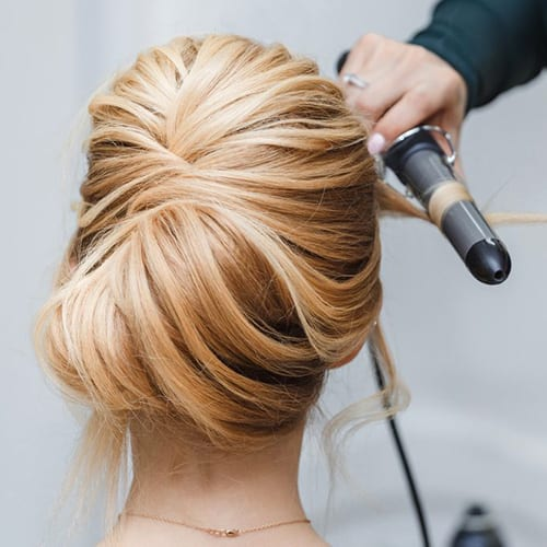 Special Occasion Updo at The Beach Club Resort and Spa Gulf Shores