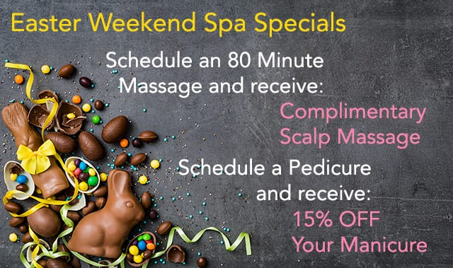 Spa Easter Weekend Specials - The Beach Club Spa and Resort Gulf Shores