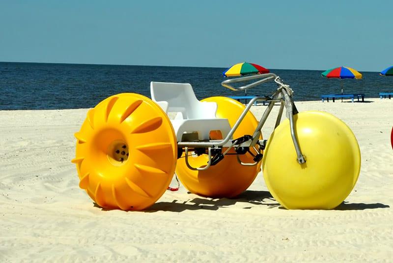 Water trike at The Beach Club Gulf Shores