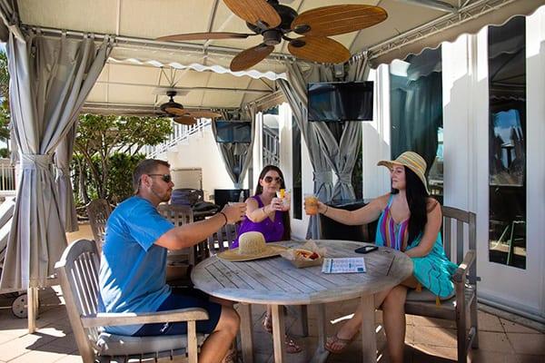 Clubhouse Cabanas at The Beach Club Gulf Shores Alabama