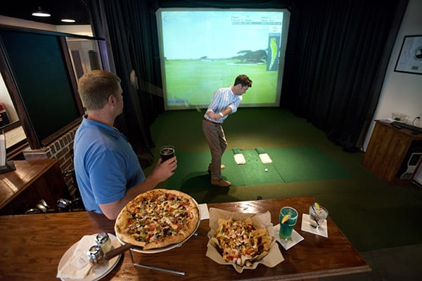 Golf Simulator at The Beach Club Gulf Shores Alabama