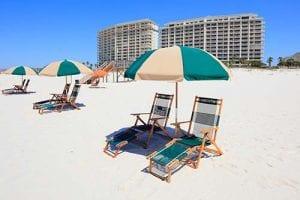 The Beach Club chair rental