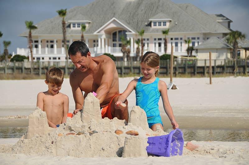Dad Beach trip