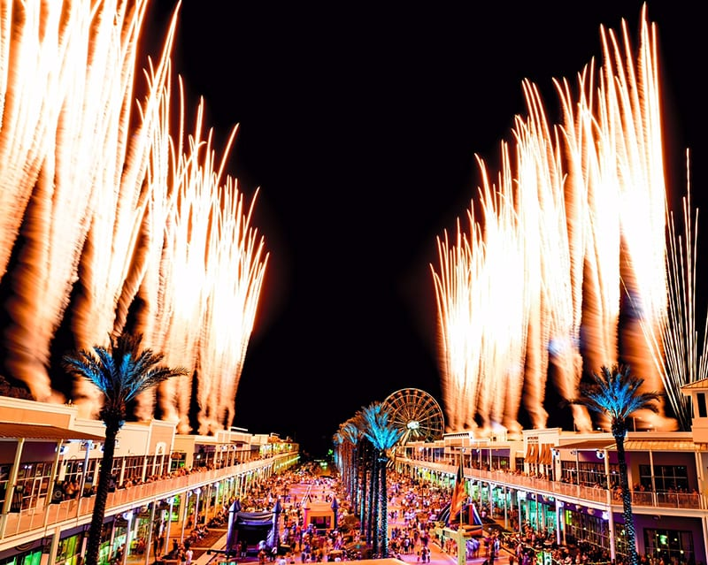 Wharf fourth of july celebration