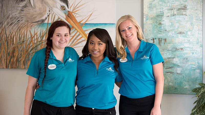 Over 300 staff to cater to your every need at the Beach Club Gulf Shores