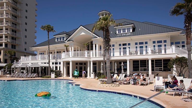 Clubhouse access at the Beach Club Resort Gulf Shores Alabama