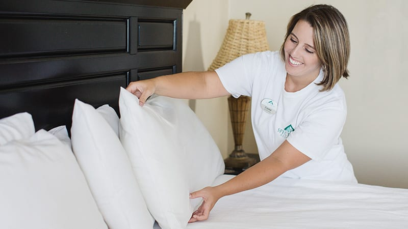 Clean Bed Guarantee at the Beach Club Resort Gulf Shores Alabama