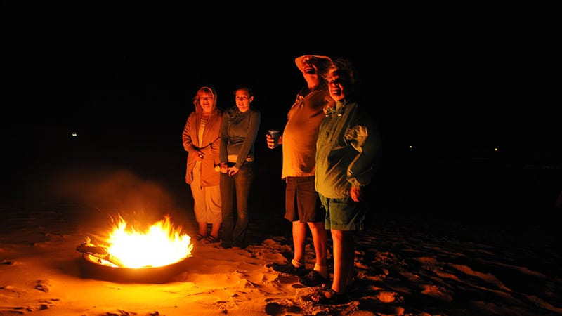 Beach Camp Fires - The Beach Club Resort Gulf Shores Alabama