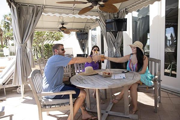 Poolside Cabanas at the Beach Club Resort Gulf Shores Alabama