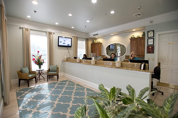 Front desk and concierge at The Beach Club Resort Gulf Shores Alabama
