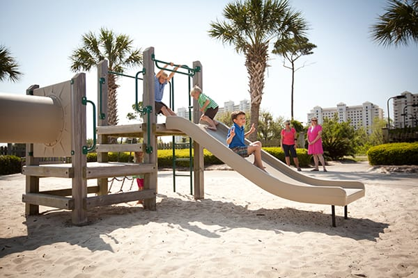 Kids playground at The Beach Club Resort Gulf Shores Alabama