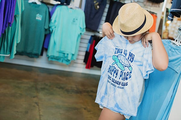 Shopping at the Mercantile - the Beach Club Resort Gulf Shores Alabama
