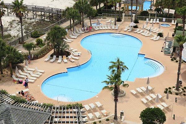 Outdoor Pools at The Beach Club Resort Gulf Shores Alabama