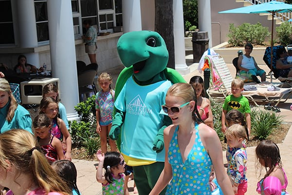 Toby the Turtle - the Beach Club Resort Gulf Shores Alabama