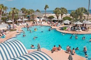 Belly Flop Contest at The Beach Club Resort Gulf Shores Alabama