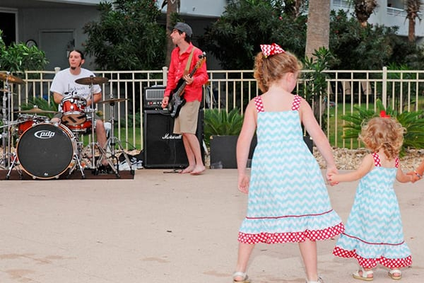 Live Music Poolside at The Beach Club Resort Gulf Shores Alabama