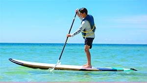 Paddleboarding at The Beach Club Resort Gulf Shores Alabama