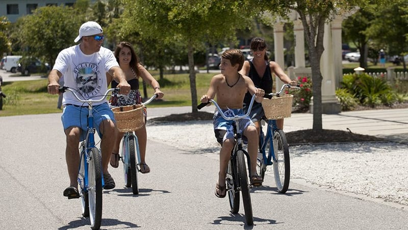 Complimentary Bike Rentals - The Beach Club Resort Gulf Shores Alabama