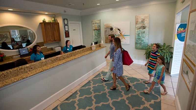 Check in at The Beach Club Resort Gulf Shores