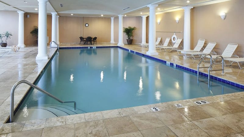 Clubhouse Indoor Heated Pool - The Beach Club Resort Gulf Shores Alabama