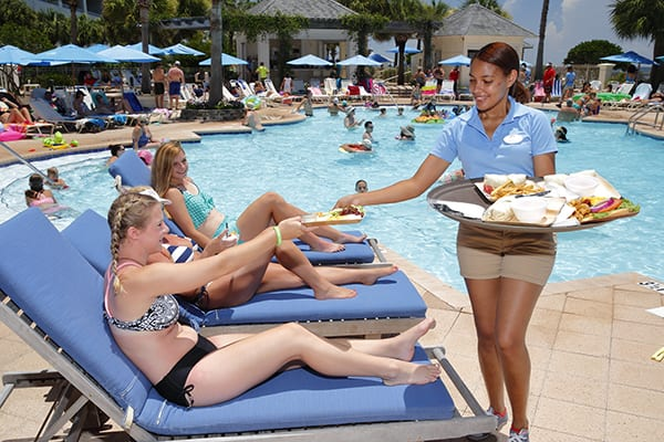 Gulfside Bar and Grill - The Beach Club Resort Gulf Shores Alabama