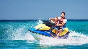 Jet Ski Rentals at The Beach Club Resort Gulf Shores Alabama