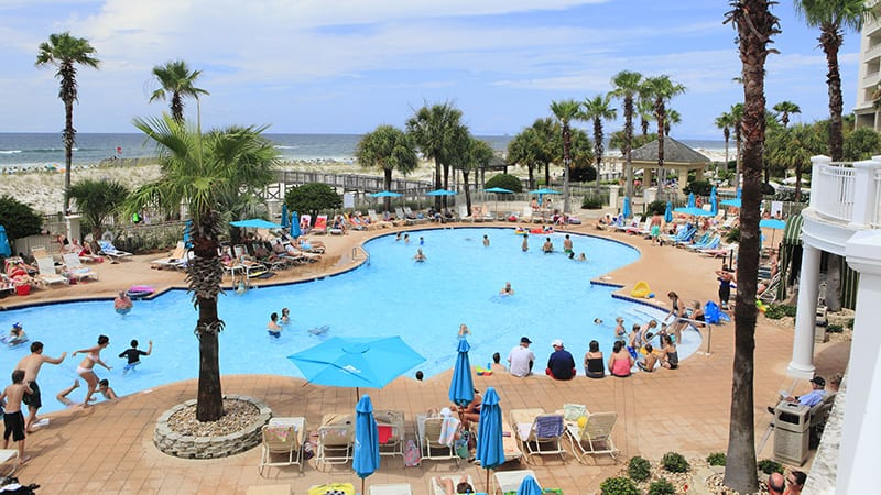 Outdoor Pool - The Beach Club Resort Gulf Shores Alabama