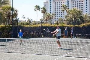 Teen Tennis Clinics at The Beach Club Resort Gulf Shores Alabama
