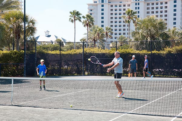 Teen Tennis Clinics at The Beach Club Resort Gulf Shores Alabama