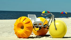 Water Trike Rentals - The Beach Club Resort Gulf Shores Alabama